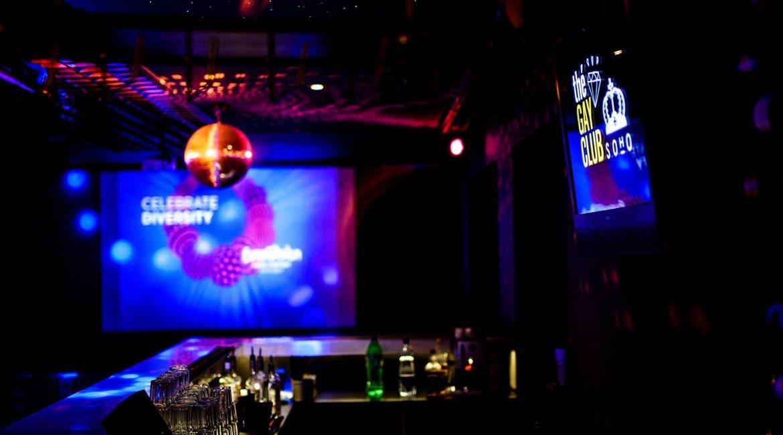 Eurovizija Vilniaus gėjų klube SOHO
